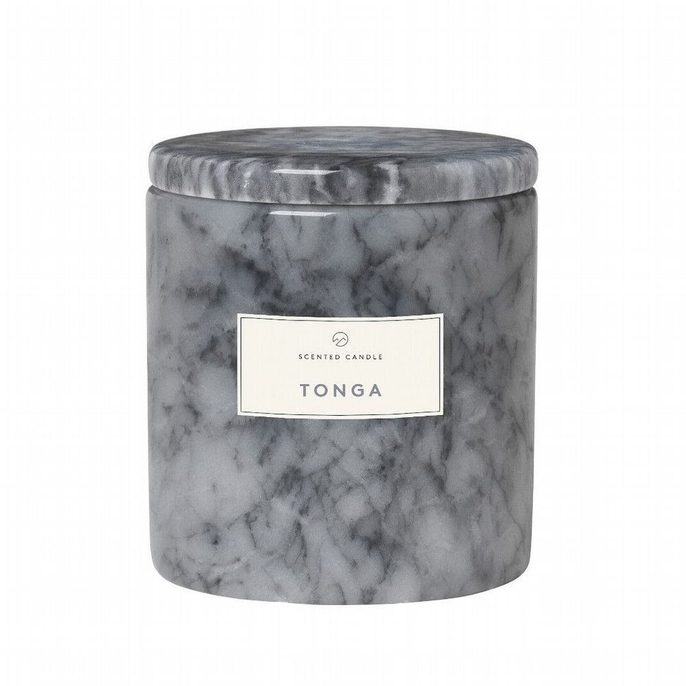 Blomus - Marble Candle With Lid - Tonga